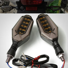For Honda VFR400 NC30 VFR 750 800 800F VFR800 VTEC Fi/W1 Led Turn Signal Motorcycle .Tail Lights Indicators Blinker Light