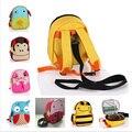 Бесплатная доставка школьников дети мультфильм животных символов anti потерянный сумка рюкзак шнурок troddler для детей новорожденных девочек мальчиков