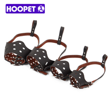 HOOPET Pet Dog Mouth Adjustable Cap Basket Muzzle Mask Cage Cover Chewing Four Models Good Quality Pet Product