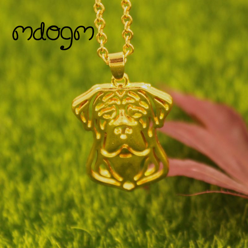 2018 Cute Cane Corso Necklace Dog Animal Pendant Gold Silver Plated Jewelry For Women Male Female Girls Ladies Kids Boys N079