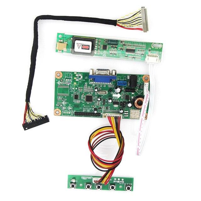 Para LP154WX5-TLA1 LTN154AT07 M. RT2270 LCD/LED Placa de Driver de Controlador 1280x800 LVDS Monitor de Reaproveitamento Laptop Novo VGA substituição