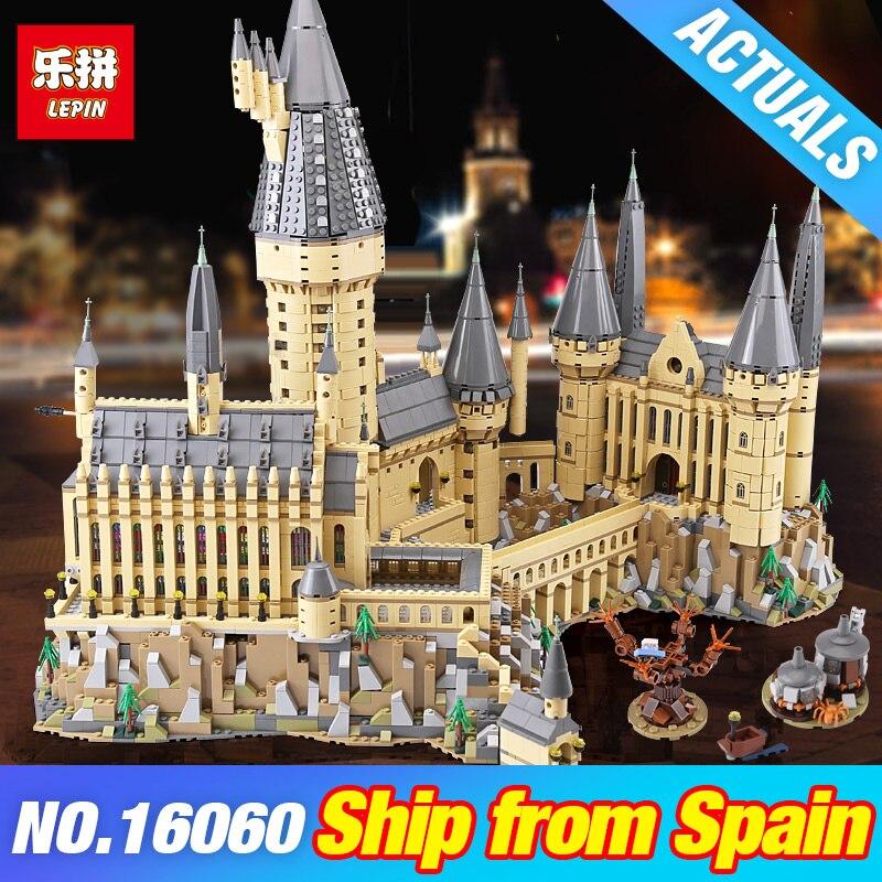 DHL Lepin 16060 Harry Film Potter 71043 Poudlard château Magique École Modèle blocs de construction Briques bricolage Jouets pour les Enfants Cadeaux