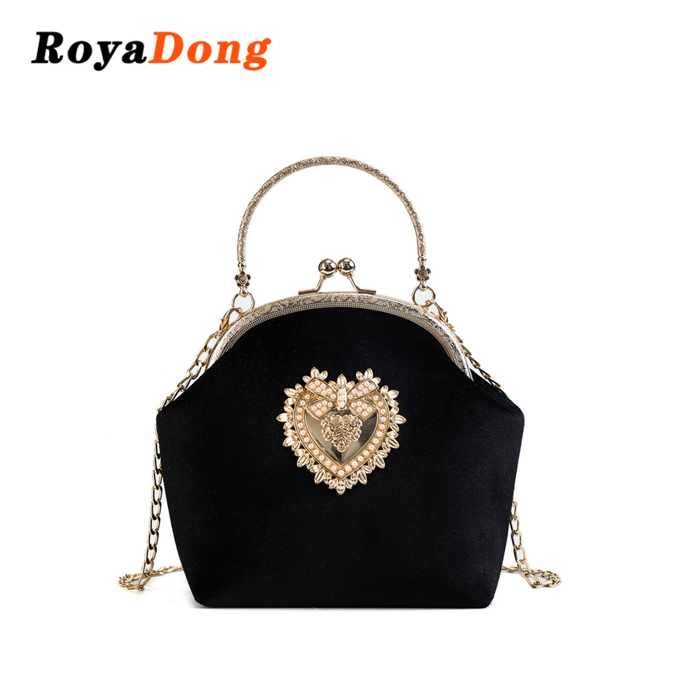 db78b5f7cb RoyaDong Brand 2018 Design Handbag Women Shoulder Bags Fashion Tote Bag  High Quality Chain Crossbody Bag Ladies Evening Package-in Shoulder Bags  from ...
