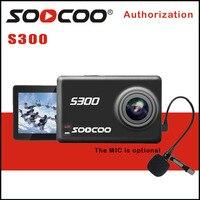 SOOCOO на S300 действие Камера EIS стабилизации изображения Спорт Cam 4 К 30FPS 2,35 сенсорный экран Hi3559V100 IMX377 Wi Fi внешний микрофон gps