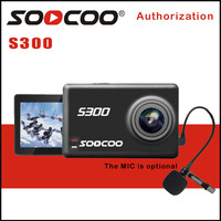 Soocoo на S300 действие Камера EIS стабилизации изображения Спорт CAM 4 К 30fps 2.35 сенсорный экран hi3559v100 imx377 Wi Fi внешний микрофон GPS