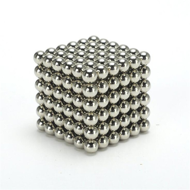 5mm 216 Pcs Neo Cube Magic Cube Puzzle Magnetic Cube Balls with Metal Box Present for Children Gifts