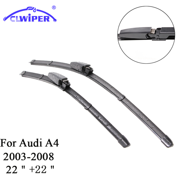 2006 Audi A4 Wiper Blades Size