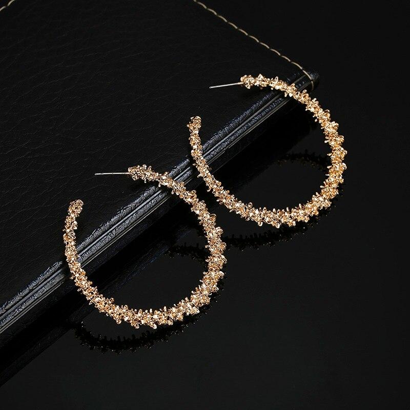 Золотые серебряные серьги-кольца простые круглые полые модные персонализированные подарочный набор украшений для ушей для свадебной вечеринки Kupe