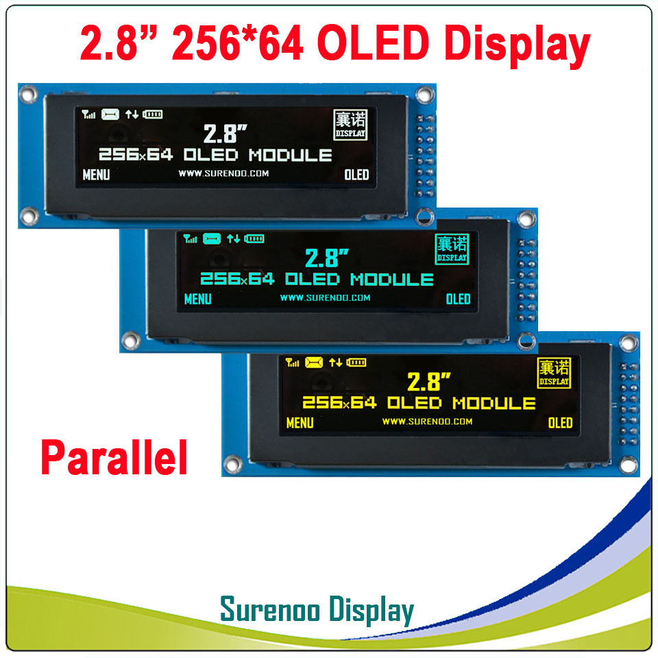 Real OLED Display, 2.8