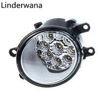 For Car Styling Front Bumper LED Fog Lights Lexus RX350 2010 2013 Car Fog Lamps Left