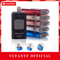 Oferta especial de telefone otg usb flash drive para iphone 6/5 ipad relâmpagos Pen drive 8g 16 gb 32 gb 64 gb iFlash Driver + Micro usb