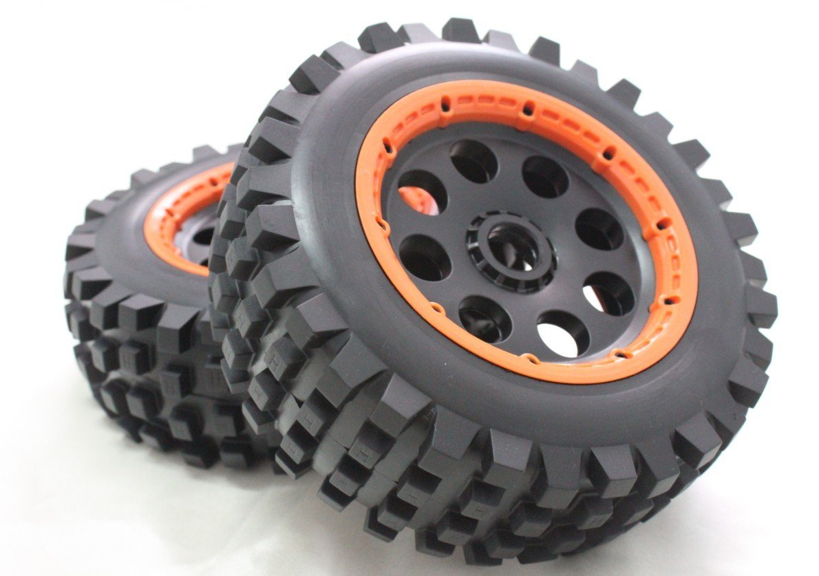 baja 5T rear wheel set (only rear) A only a promise