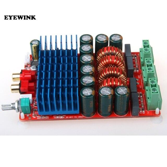 Nowy HIFI TAS5630 stereofoniczny wzmacniacz cyfrowy Audio klasa D płyta wzmacniacza wysokiej mocy 2X300W Amplificador DC 25 50V
