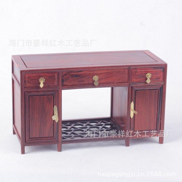 Красное дерево миниатюрная мебель из красного дерева пьедестал стол из красного дерева нефрита украшения оптовая продажа с фабрики super fine