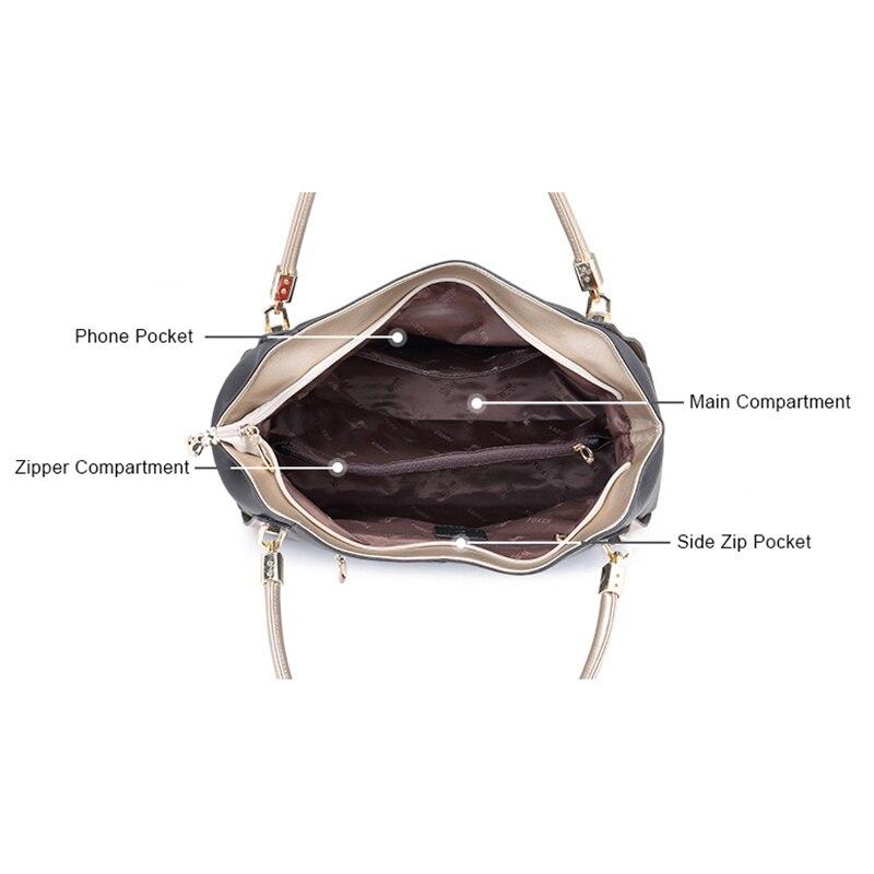 FOXER marka dizaynı Qadın yumşaq orijinal dəri çantaları - Çantalar - Fotoqrafiya 6