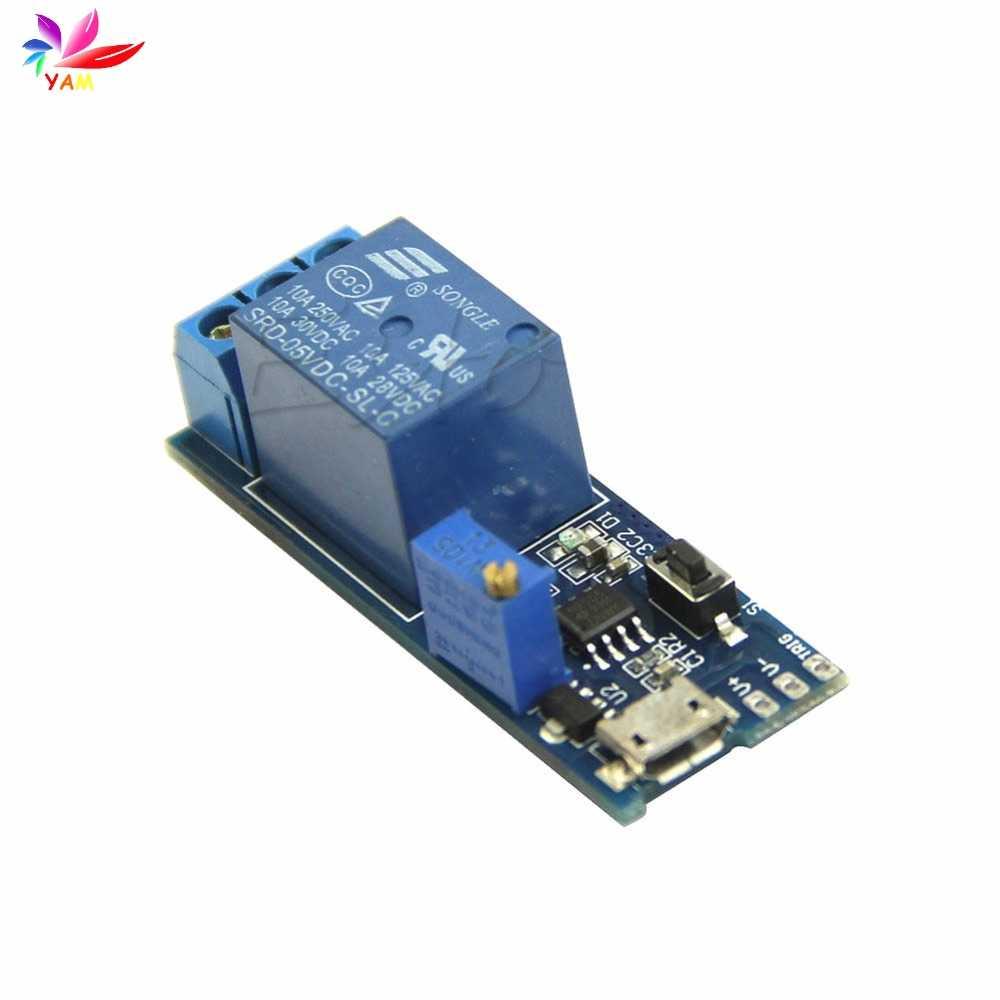 5 V-30 V Module de temporisation de relais de retard commutateur de retard de déclenchement Micro USB UK-OE d'outils électriques