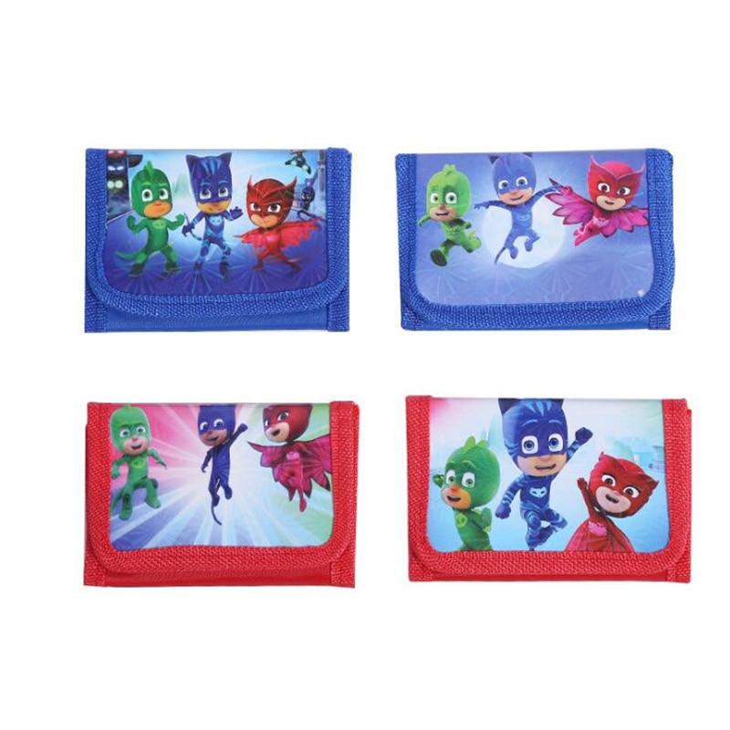 New Cartoon pj masks Coin Purse Children Fashion Zip Change Purse Wallet Gifts for the children in the party supplies muqgew new fashion 2018 children party
