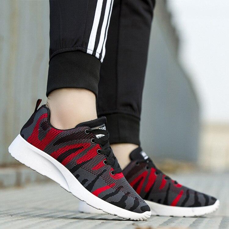 100% QualitäT Atmungsaktive Flache Vulkanisieren Schuhe Für Männer Camouflage Lace-up Casual Schuhe Striped Chunky Designer Schuhe StäRkung Von Sehnen Und Knochen