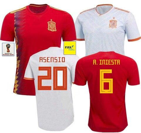 Espana Póló Spanyolország Dzsekik 2018 World Espana póló Spain - Jelmezek