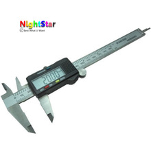 Cheaper 150mm Stainless Steel Electronic Digital Vernier Caliper Micrometer Guage LCD Micrometer Measuring NO BOX