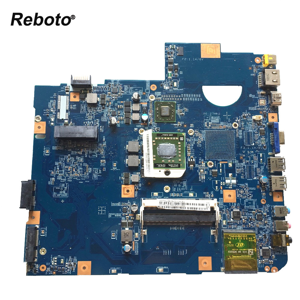 Reboto For ACER 5536 Laptop motherboard MBP4201003 48 4CH01 021 DDR2 mainboard 100 Tested Fast Ship