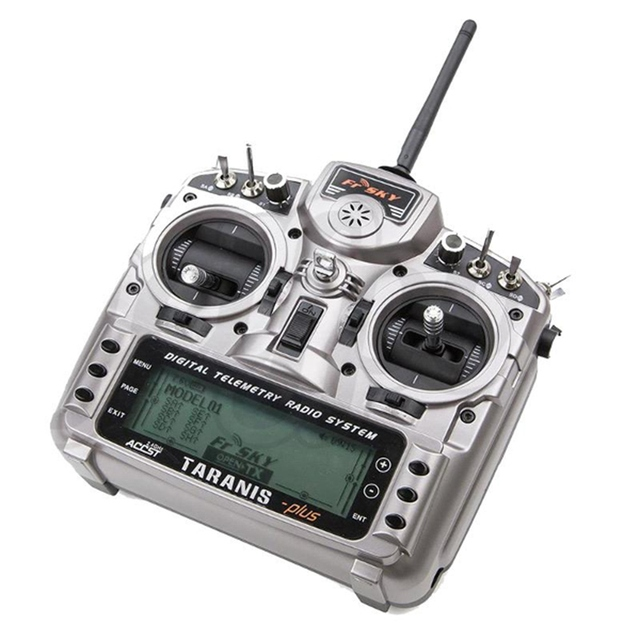 New FrSky Taranis X9D Plus 2.4G ACCST Transmitter With X8R Receiver selection For RC Multicopter Part Racing drone 1