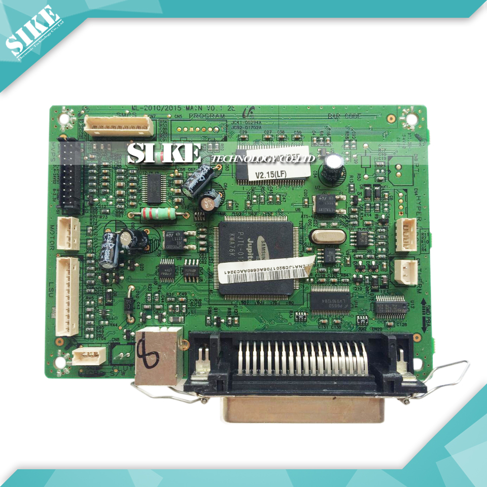 Free shipping Mainboard For Samsung ML-2015 ML2015 ML 2015 Formatter Board Main board on sale 100% test main board for samsung ml 2160 ml 2161 ml 2165 ml 2160 2161 2165 formatter board mainboard on sale