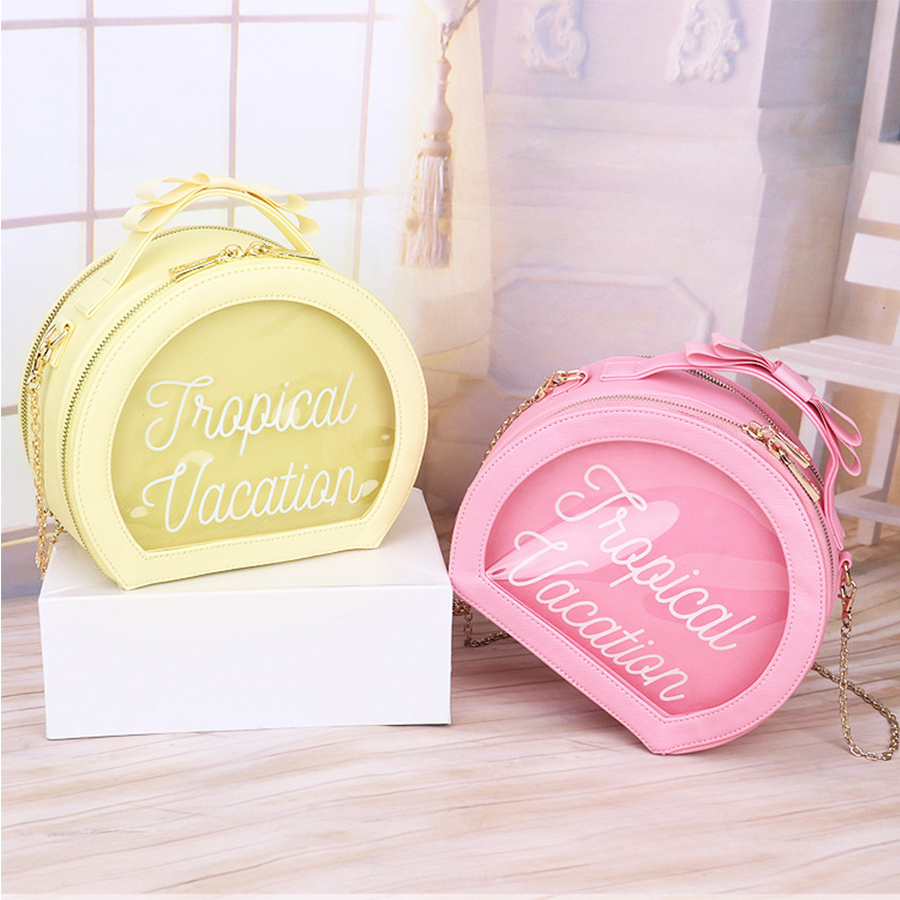 Brand Leather Bag Women Transparent Jelly Messenger&Crossbody Bags Ladies Candy Chains Shoulder Bags Bow Casual Ita Bag Girls 2017 new crossbody bags for women candy colors messenger bag brand fashion ladies shoulder bag women leather handbag l4 2616
