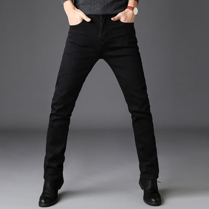 Thick Velvet Pants Warm Jeans