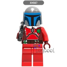 1PCS model building blocks action superheroes Jango brick kit girls house games diy toys for children gift(China)