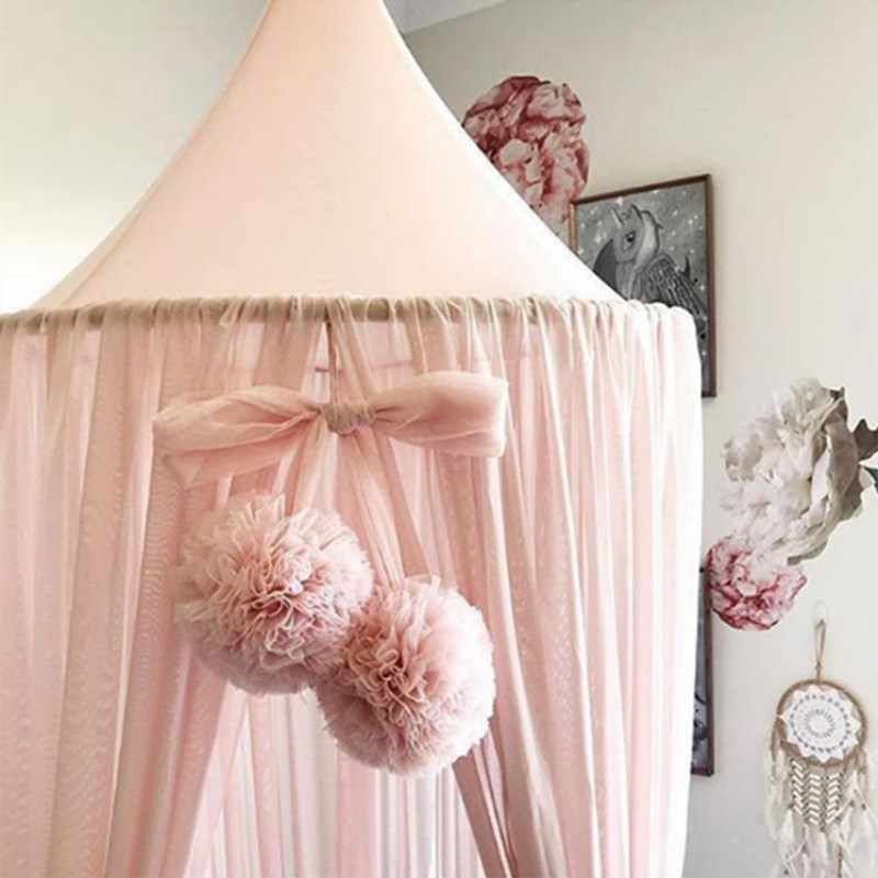 Baby Room Decoration Garland Ball Garland Bunting for Wedding or Party Children's Room Mosquito Net Crib Net Accessories