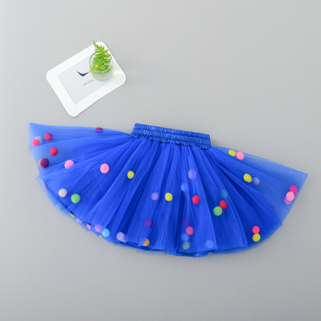 Infant Tutu Skirt Baby Girl Pettiskirt Ball Gown Girls Princess Party Ballet Dance Tulle Skirts Newborn Mini Baby Girls Clothes