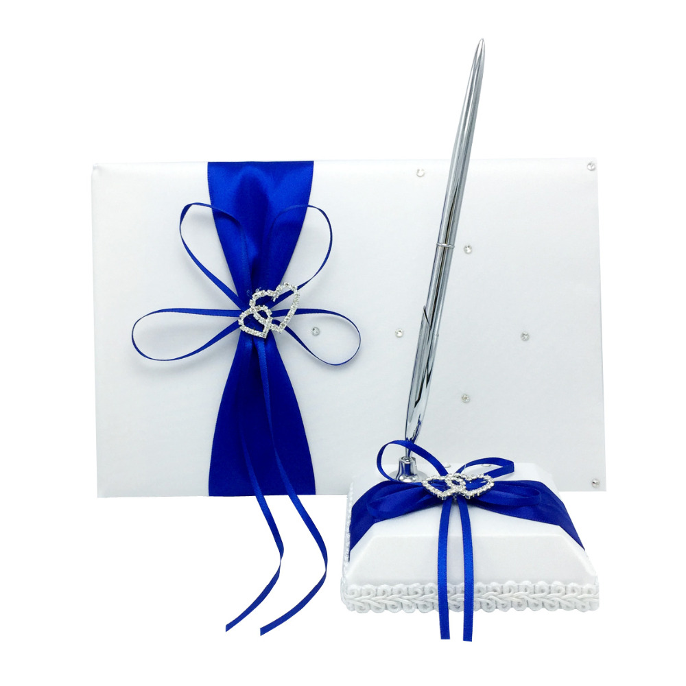 Aliexpress.com : Buy 4Pcs/set Royal Blue Wedding Decoration Bridal ...