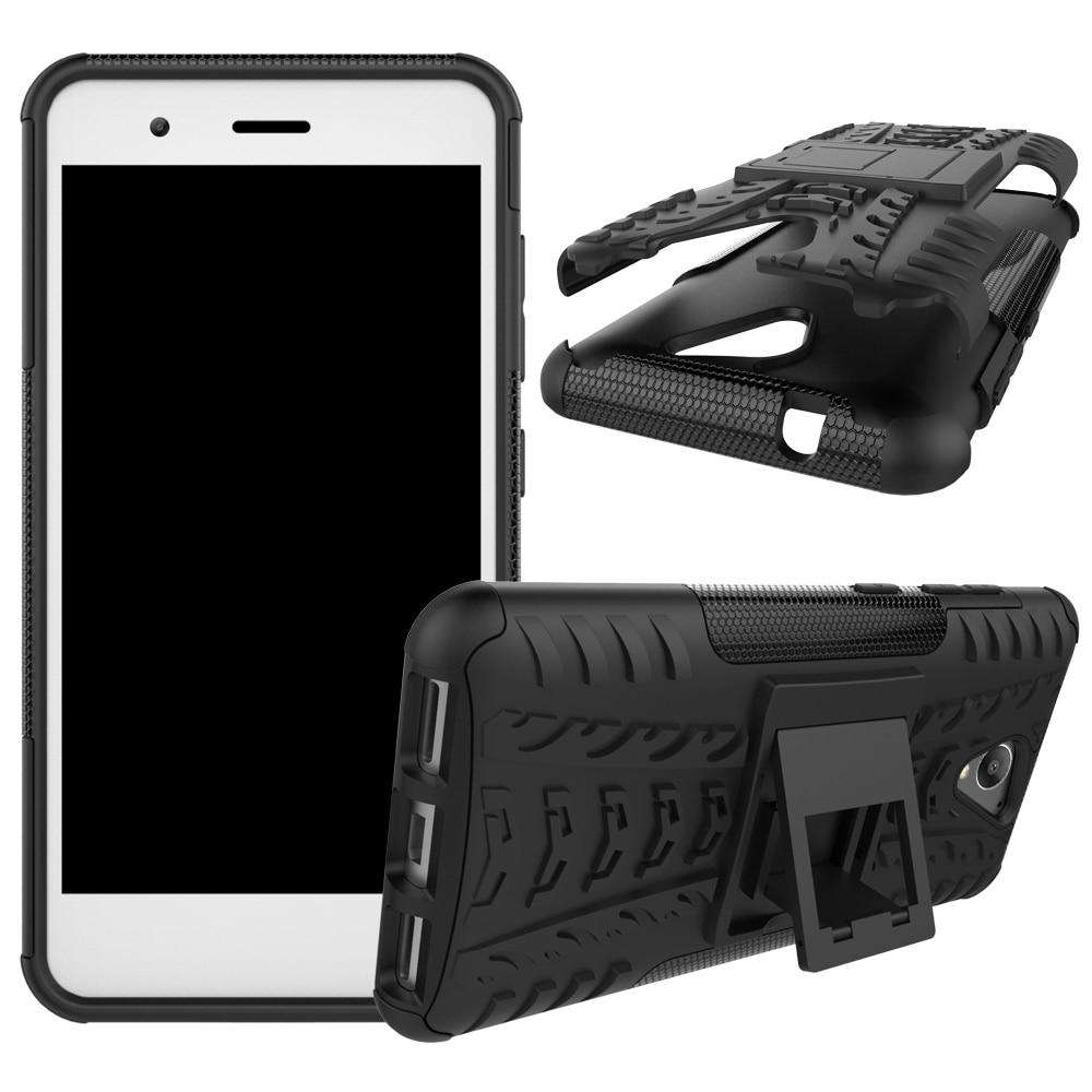 Pentru carcasa ZTE A510 BA510 5.0inch TPU & PC Dual Armor Capa cu - Accesorii și piese pentru telefoane mobile