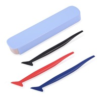 EHDIS 3pcs Vinyl Car Wrap Squeegee Car Household Cleaning Tools Window Tinting Tool Auto Car Diagnostic