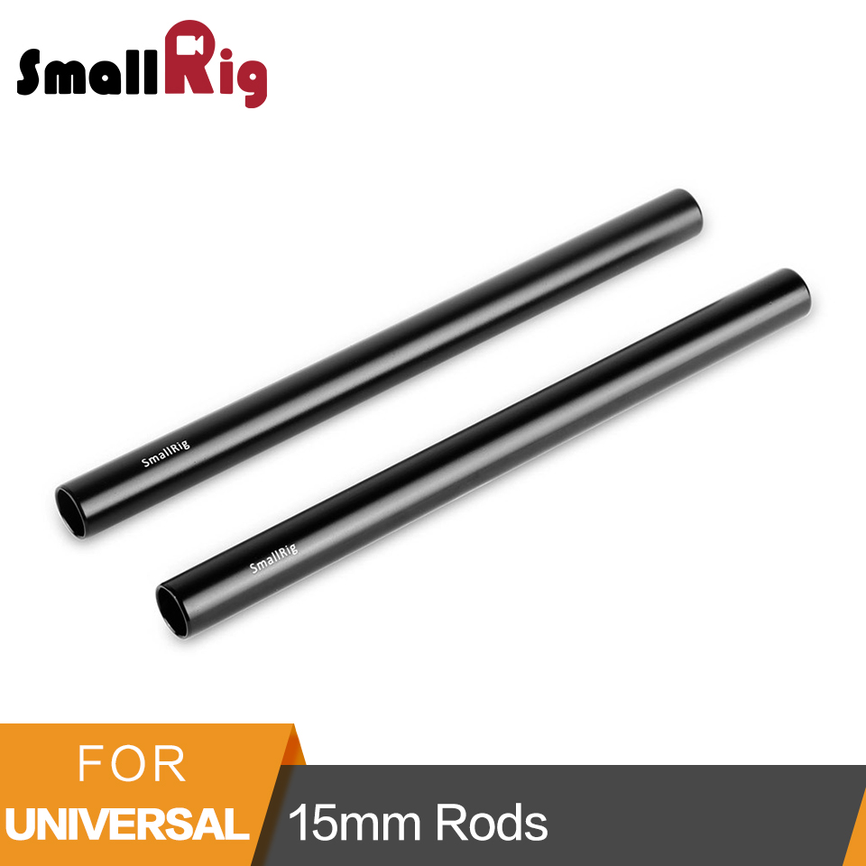 SmallRig 15mm Rod Aluminum Alloy Stabilizing Rod Support Threaded Rod 20cm Long 8 inch M12 Rod - 1051SmallRig 15mm Rod Aluminum Alloy Stabilizing Rod Support Threaded Rod 20cm Long 8 inch M12 Rod - 1051