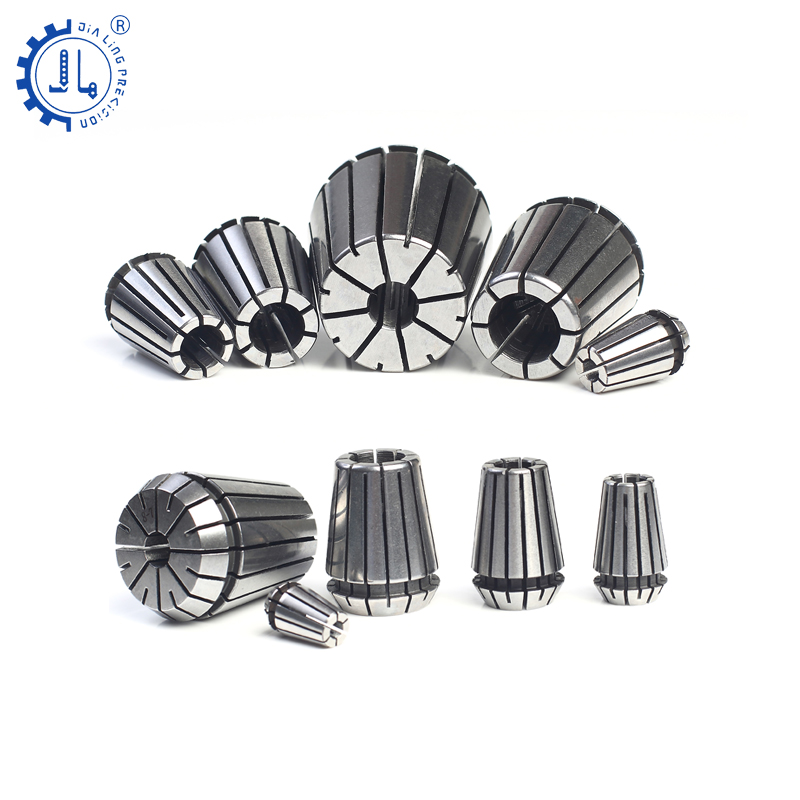 ER 11/16/20/25/32 nut CNC ER metal Collets Chunk for cnc and Carving Machine collets&nuts cnc tools for Tool Holder set Nut