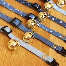Hot Safety Cute Dog Cat Pet Collar Breakaway Adjustable Cats Collars Buckle Bell Strap  strap Accessor