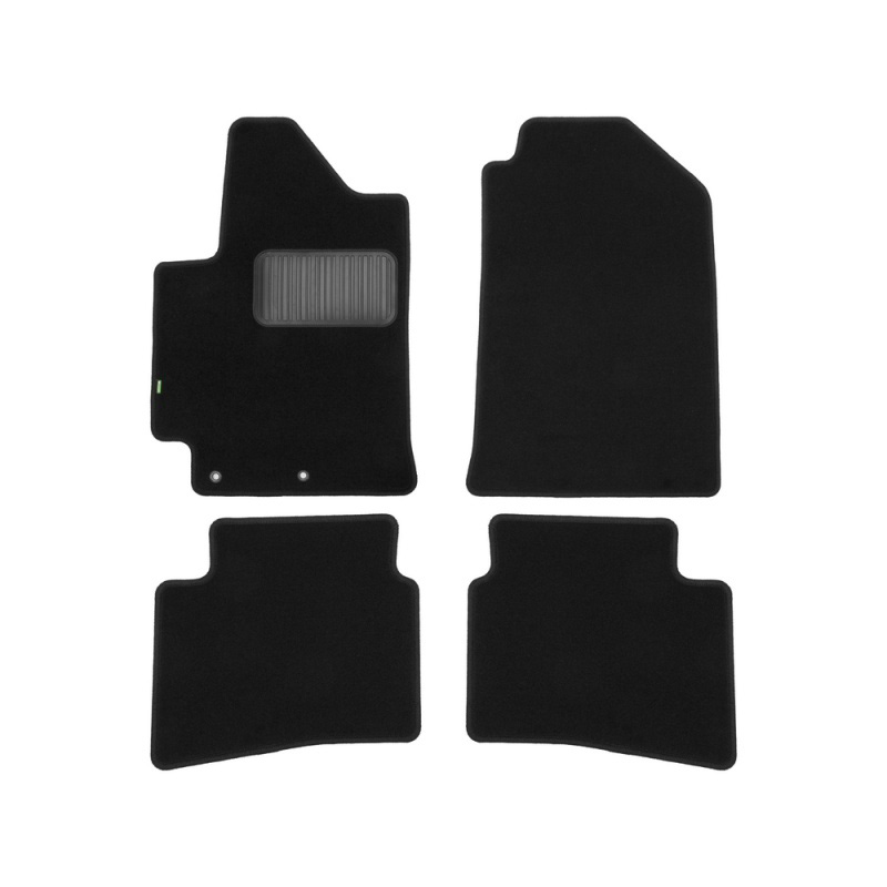 цена на Mats in salon Klever Standard For KIA RIO 2017->, сед... 4 PCs (textile)