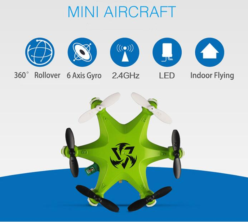 RC Quadcopter FY805 2.4GHz 4 Ch6 Axis Gyro Mini Helicopter remote control drone Headless Mode with LED Light rc toy kids gifts