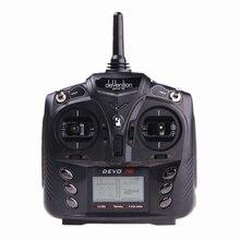 DEVO7E Walkera DEVO 7E 2.4G 7CH DSSS Radio Control Transmitter for RC Helicopter