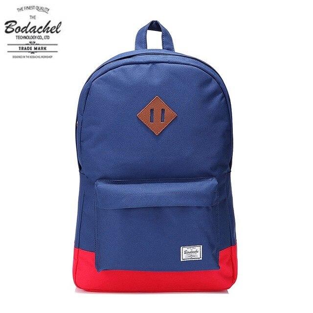 55b910e58d9 Supply herschel heritage red and blue color block backpack school bag  street backpack