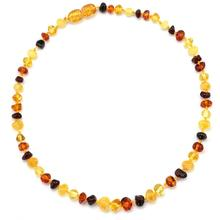 цена на Amber Teething Necklace/Bracelet - No invoice, no price, no logo - 7 Sizes - 10 Colors - Ship from CN