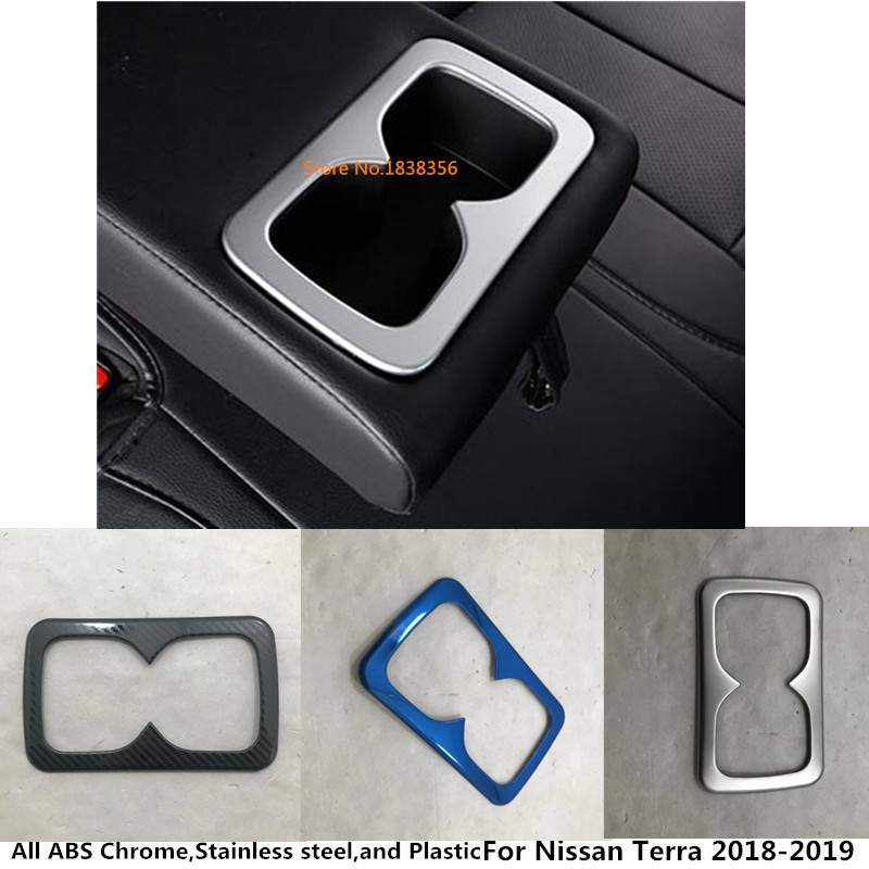Hot Sale For Nissan Terra 2018 2019 Car Inner Trim Lamp Center Console Middle Rear Back Tail Cup Gear Armrest Box Frame Automobiles & Motorcycles