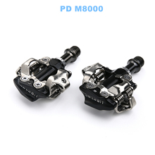 SPD Pedales Compatible For Shimano XT PD M8000 Bicicleta MTB Mountain Bike Pedal Self-Lockings Clipless Pedals With Cleats