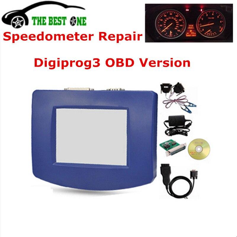 Prix pour Dernière V4.94 DIGIPROG III Digiprog 3 OBD2 Version Unité Principale + ST01 ST04 Câble Digiprog3 OBD II Plein De Voiture Odomètre Correction outil