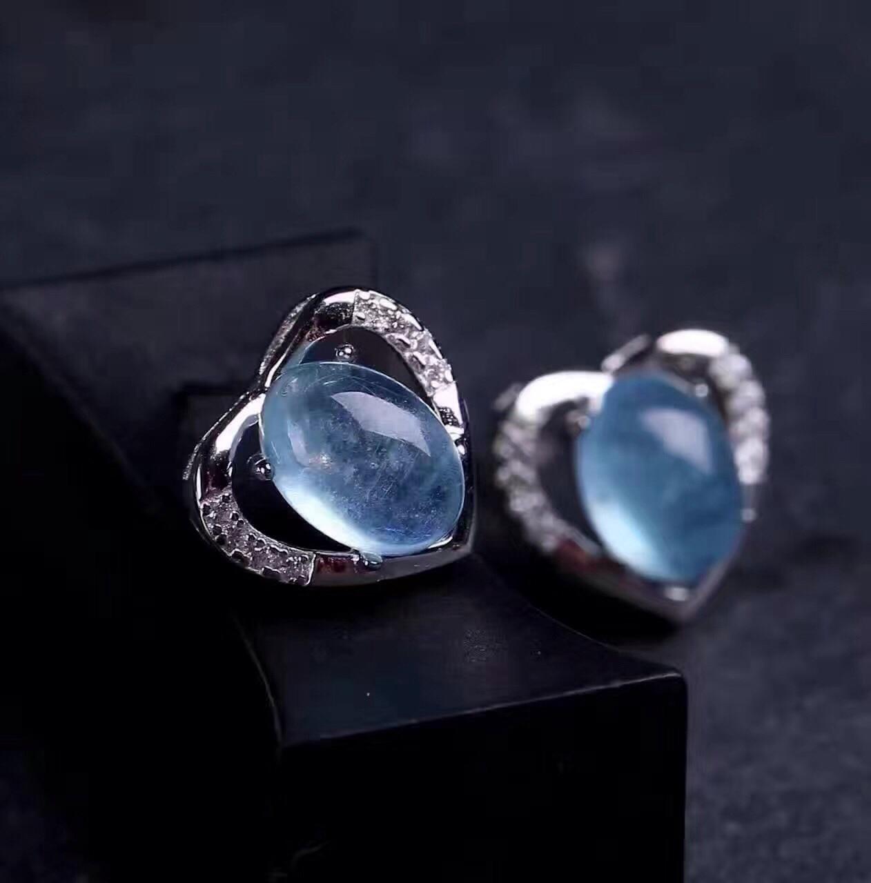 925 Brincos de Cristal de Prata - 3