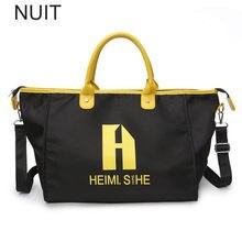 354c20901bd7 Чемодан и дорожная сумка большая Ёмкость Для мужчин ручной Чемодан  Путешествия Duffle Сумки нейлон выходные сумки Для женщин Мно..