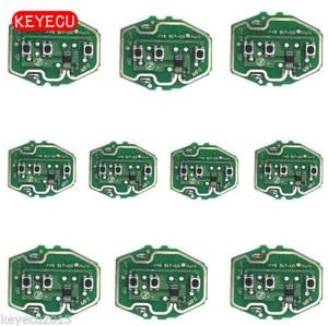 Image 1 - Keyecu 10PCS * 3 כפתור שלט רחוק המעגלים עבור BMW EWS מערכת 1995 2005 315/433MHz ללא מפתח מעטפת אין סוללה