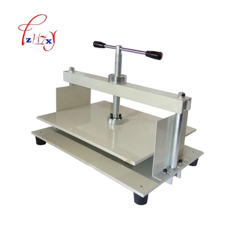 A3 + ידני נייר עיתונות מכונה ספר, חשבונות, בדיקות, חוברות, נושך מכונה ידנית השטחת מכונה 430*320 MM